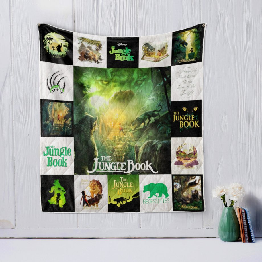 KPWE JUNGLE BOOK (2016) Style 3 Quilt Blanket