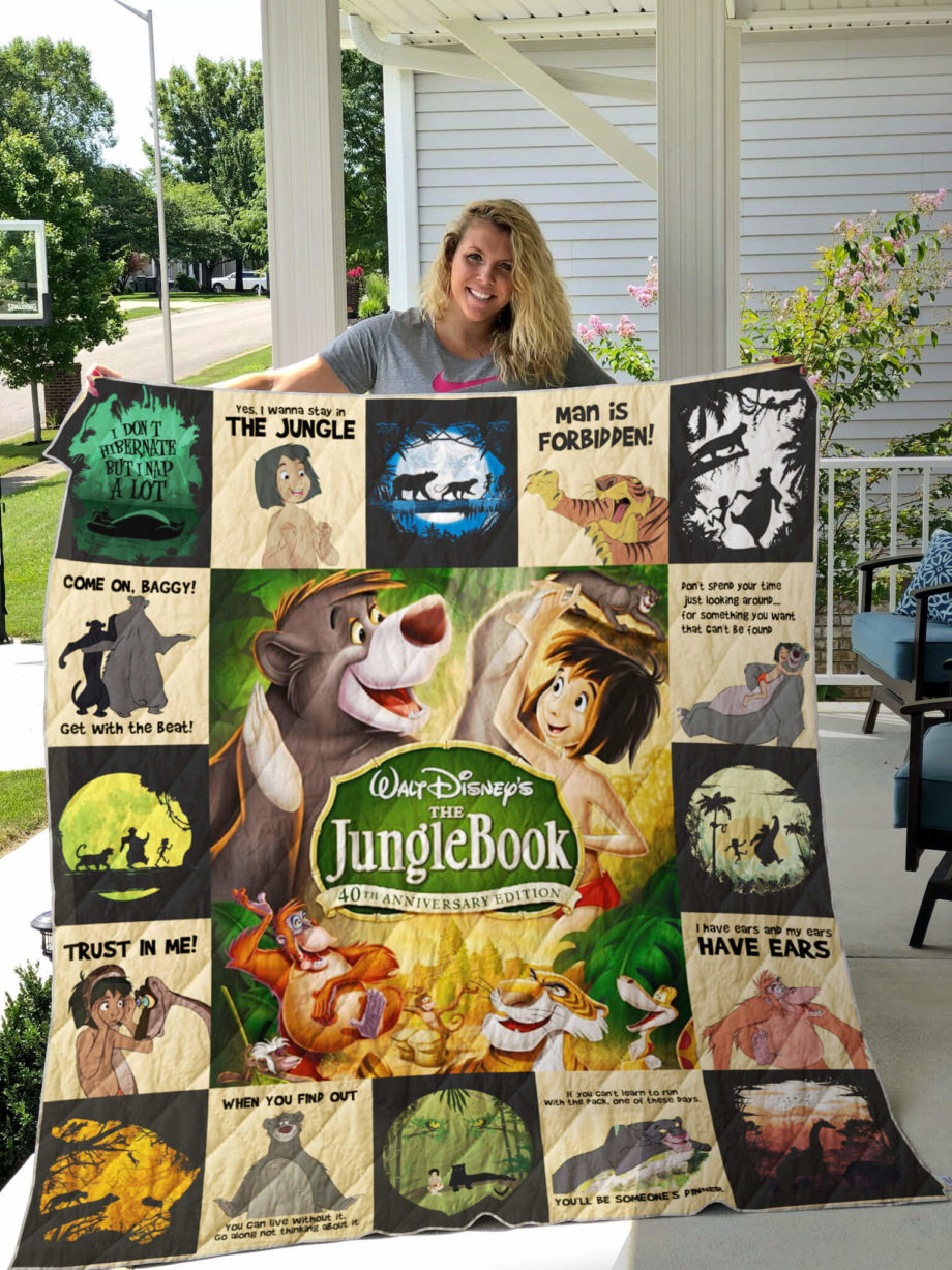 The Jungle Book Quilt For Fans Ver17