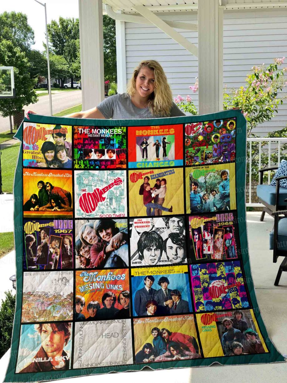 The Monkees Quilt Blanket 01