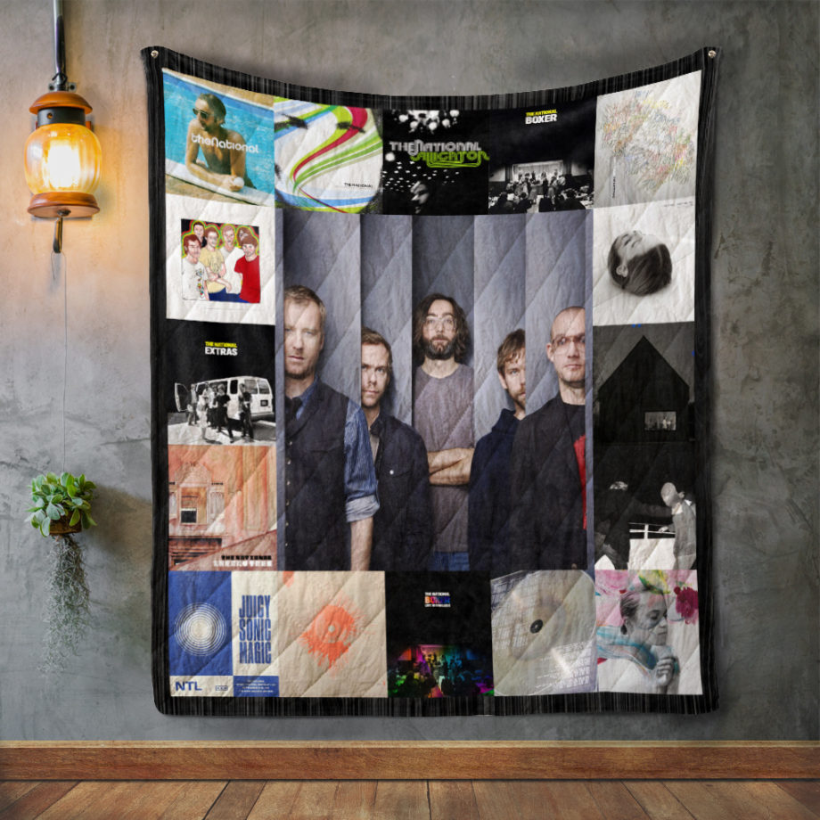 The National Album Covers Quilt Blanket
