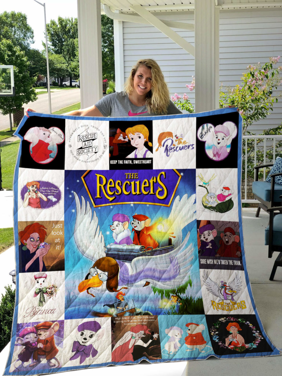 The Rescuers Quilt For Fans