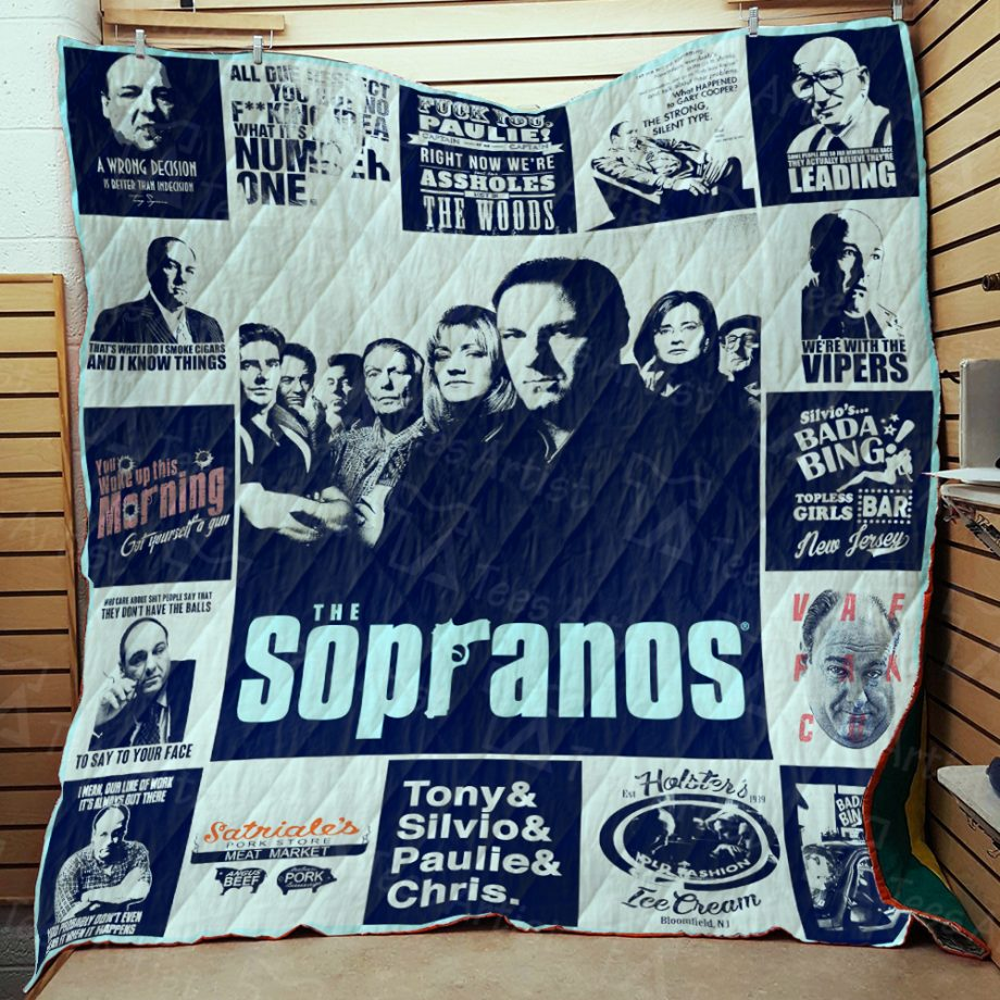 The Sopranos Quilt Blanket 01882