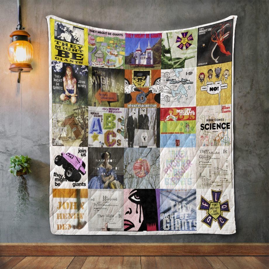 They Might Be Giants Quilt Blanket