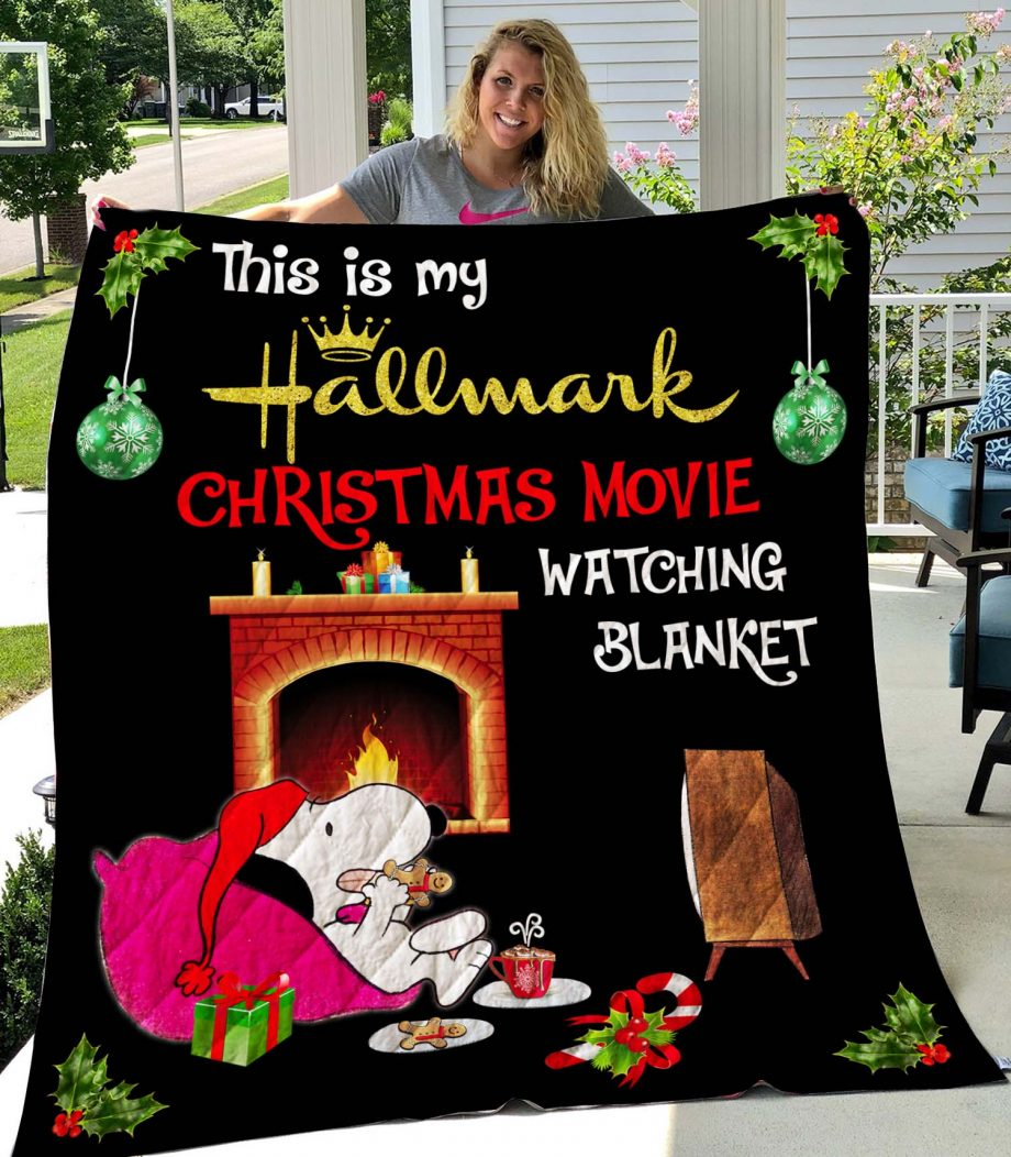 This Is My Hallmark Chirstmas Quilt 1809