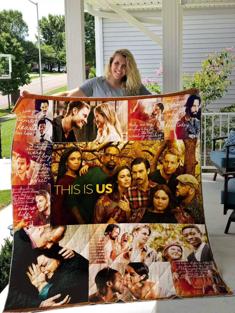 This Is Us Quilt Blanket