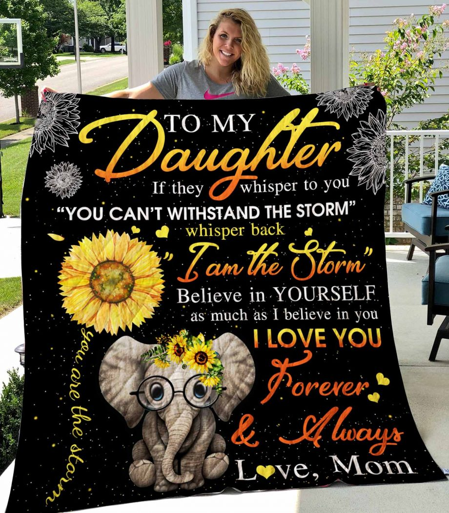 To My Daughter Quilt0489