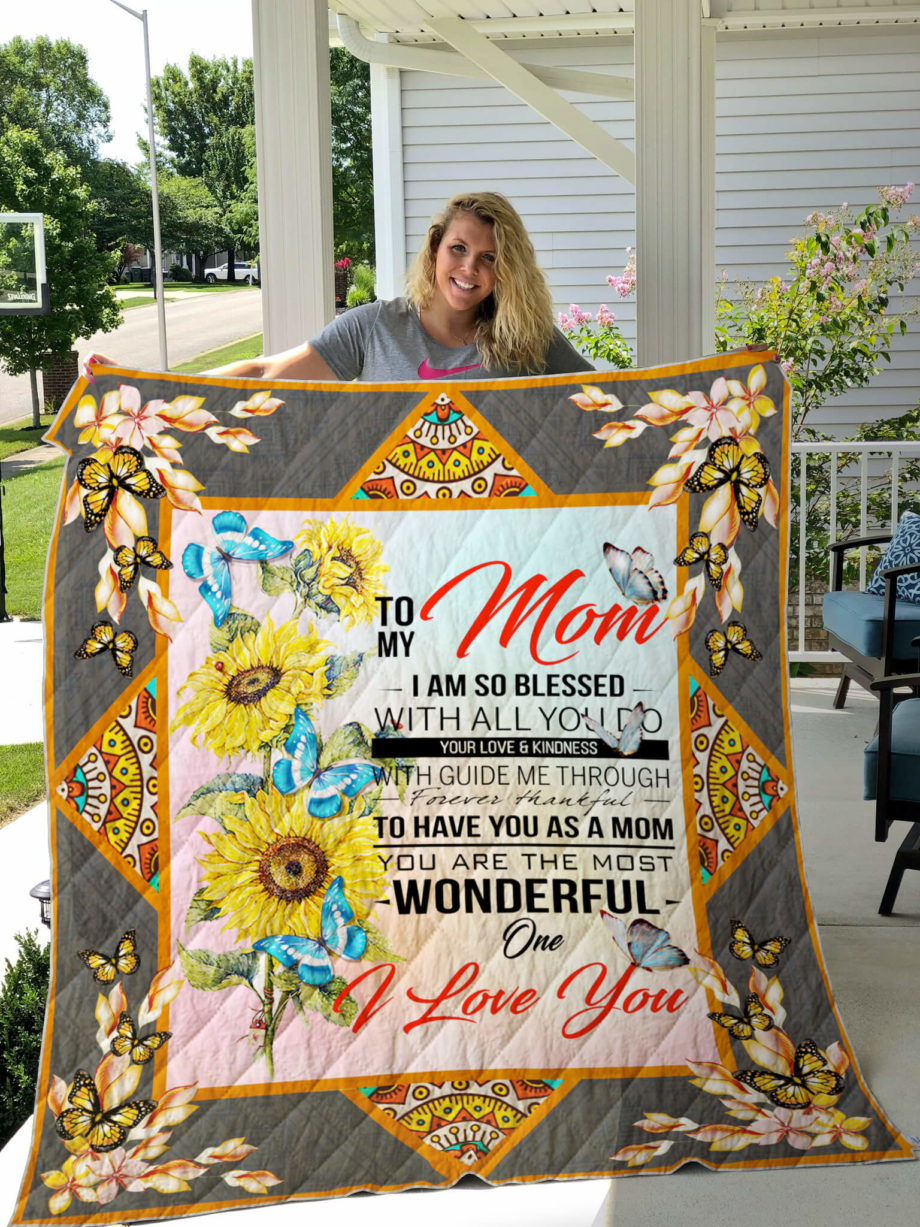 To My Mom Quilt KPW668 KP-140