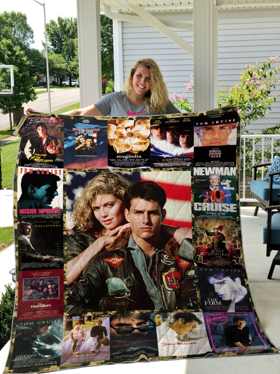 Tom Cruise Movies Quilt Blanket KP-272