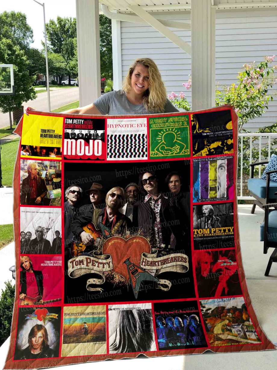Tom Petty and the Heartbreakers Quilt Blanket 01