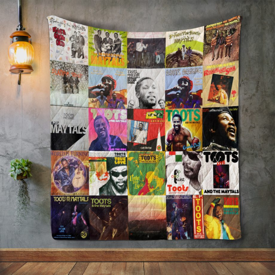 Toots amp The Maytals Quilt Blanket