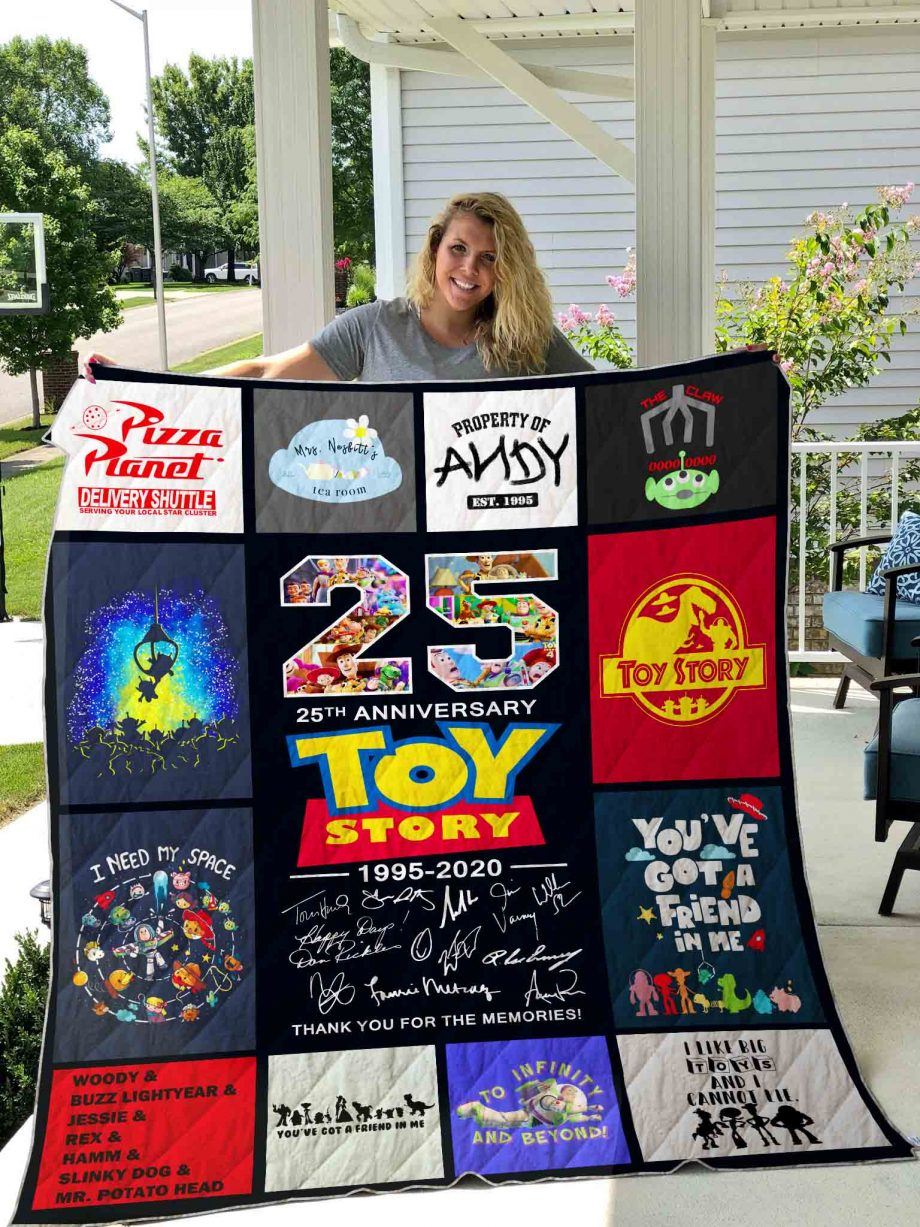 Toy Story Quilt Blanket 01