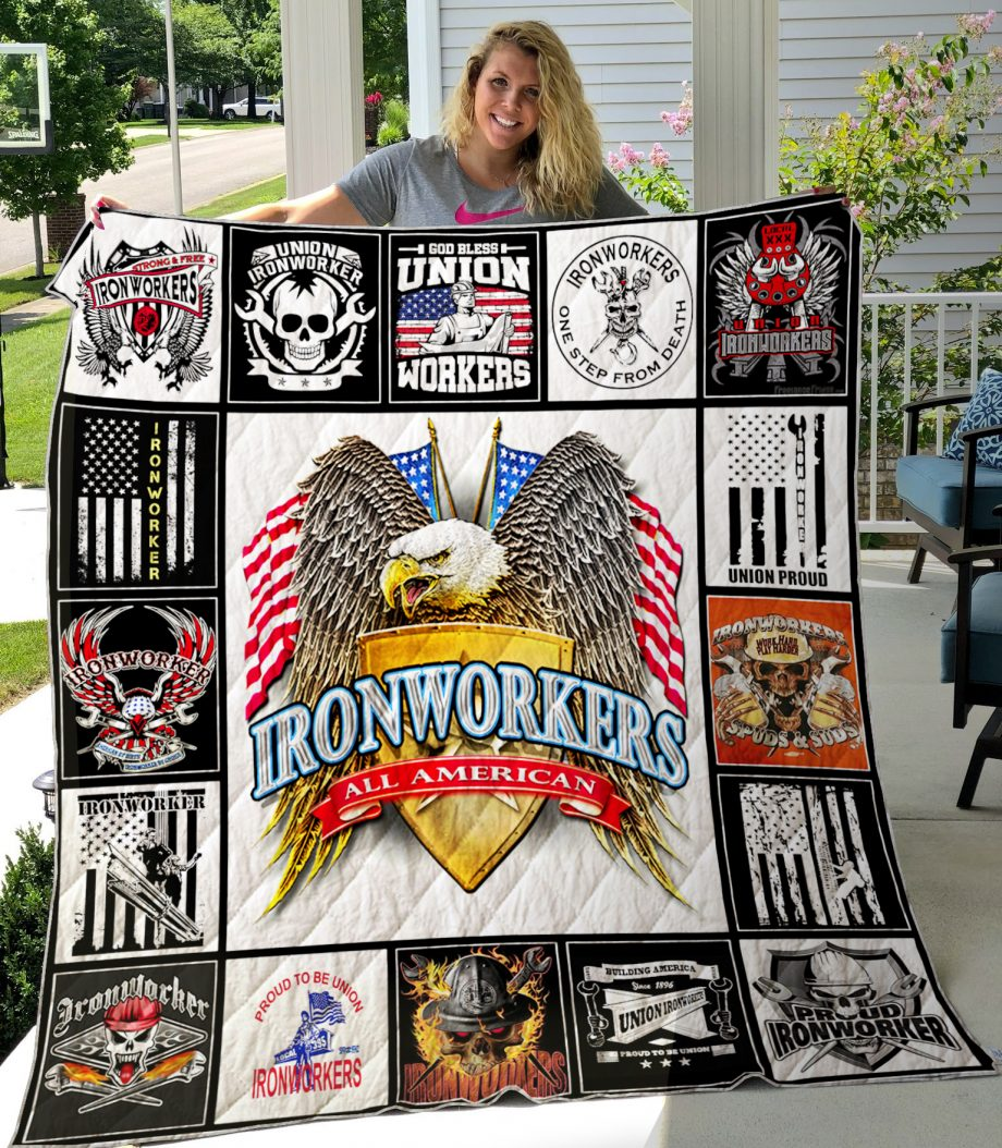 Union Ironworkers Quilt0489