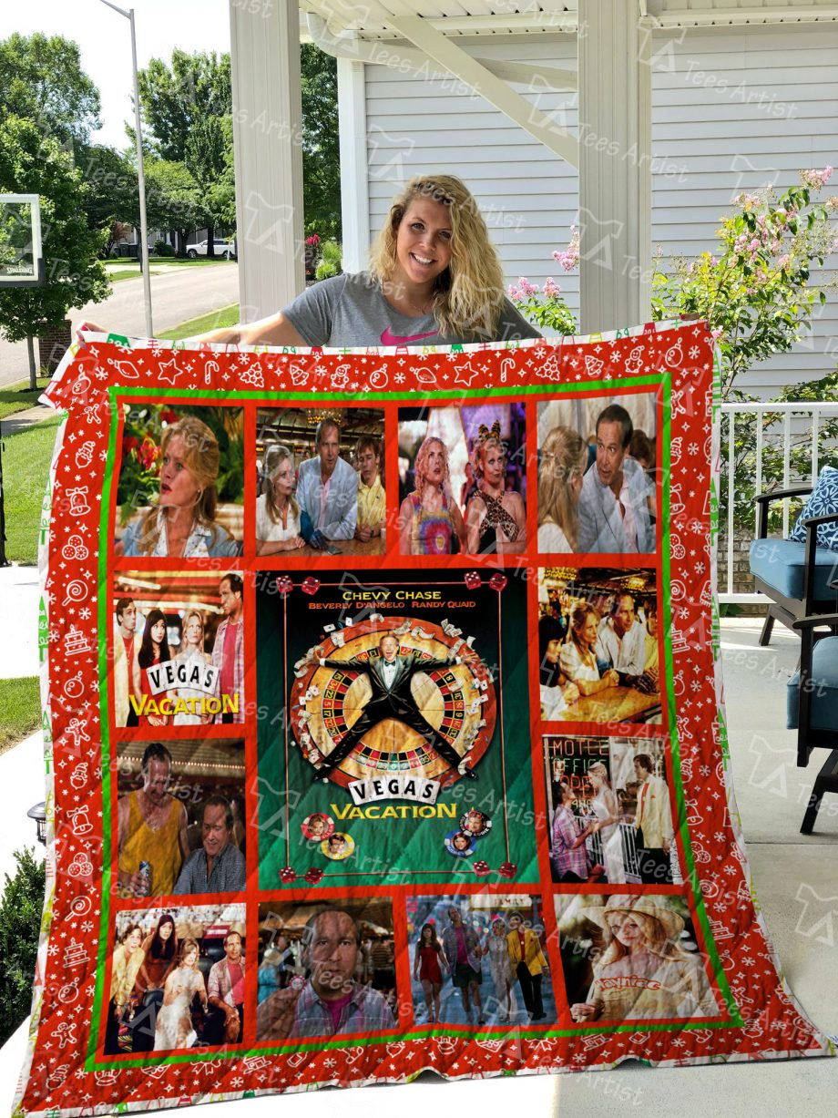 Vegas Vacation Quilt Blanket 01909