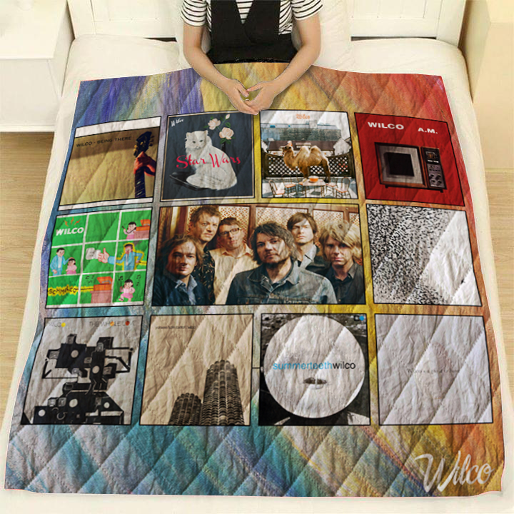 Wilco Quilt Blanket New Arrival