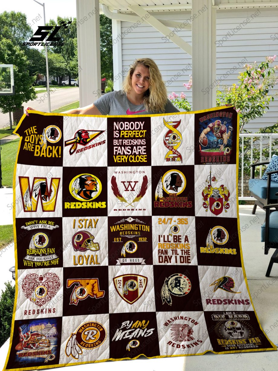 Washington Redskins quilt blanket 02