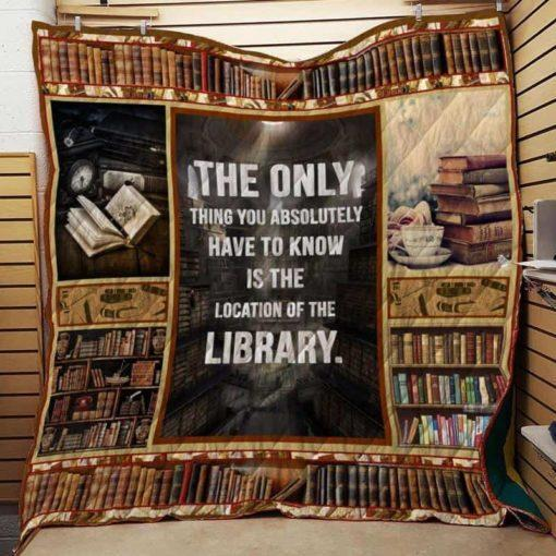 Book Library Quilt