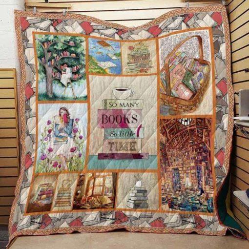 Book Time Quilt