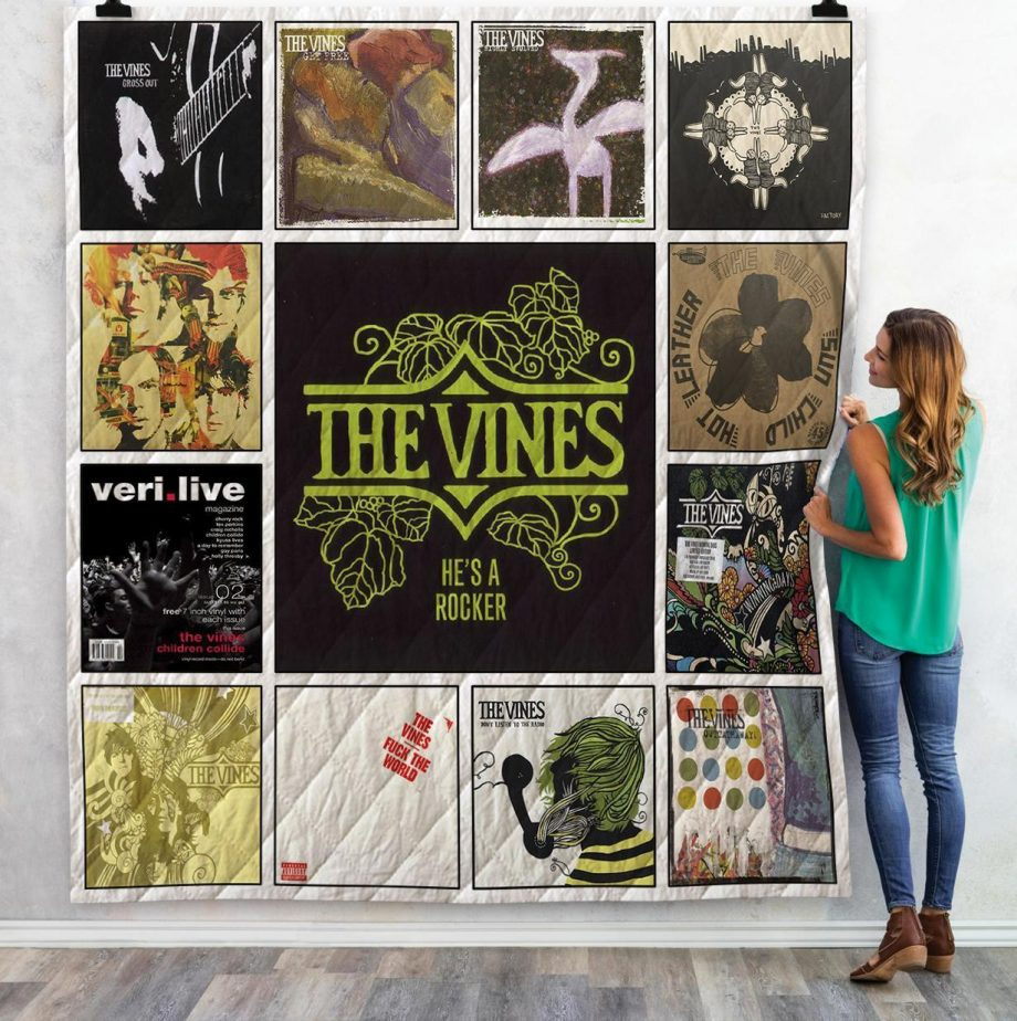 The Vines Singles Albums Quilt Blanket 02