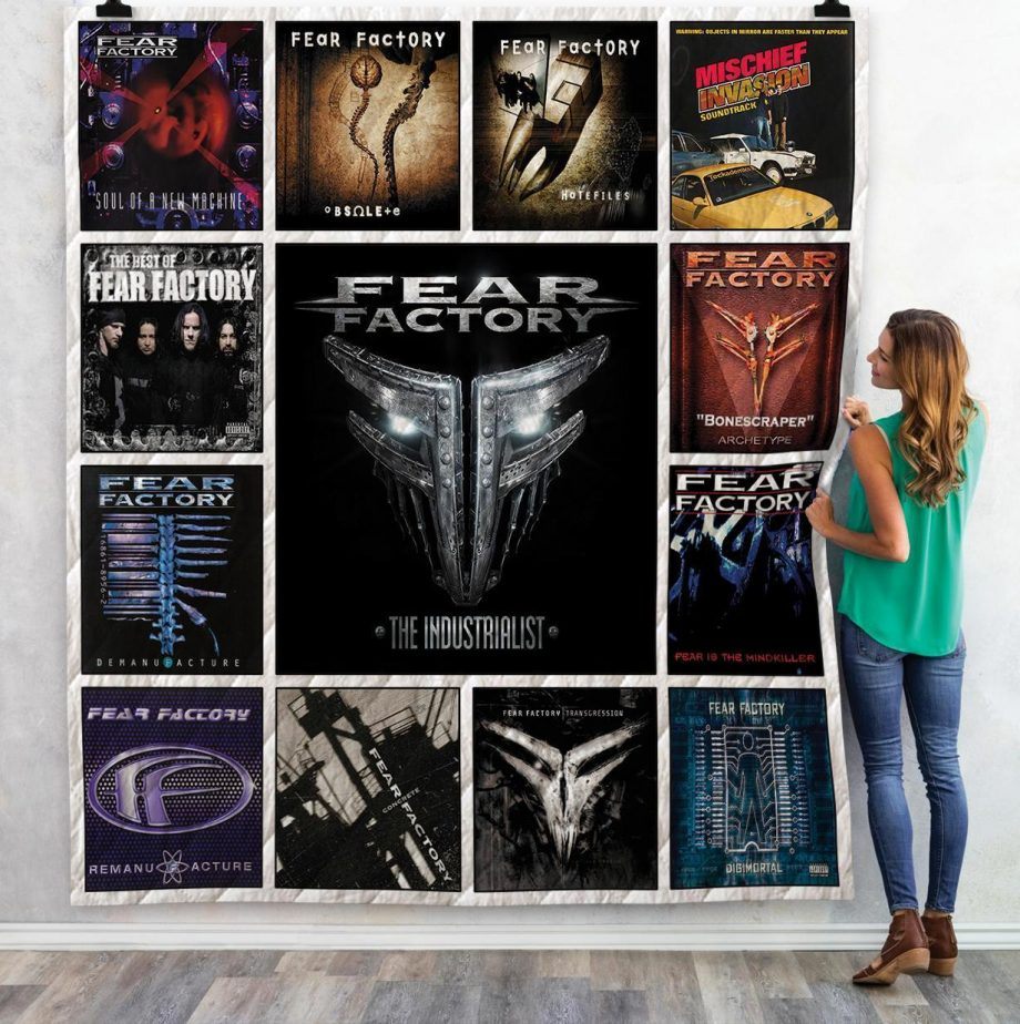 Fear Factory Albums Quilt Blanket 02