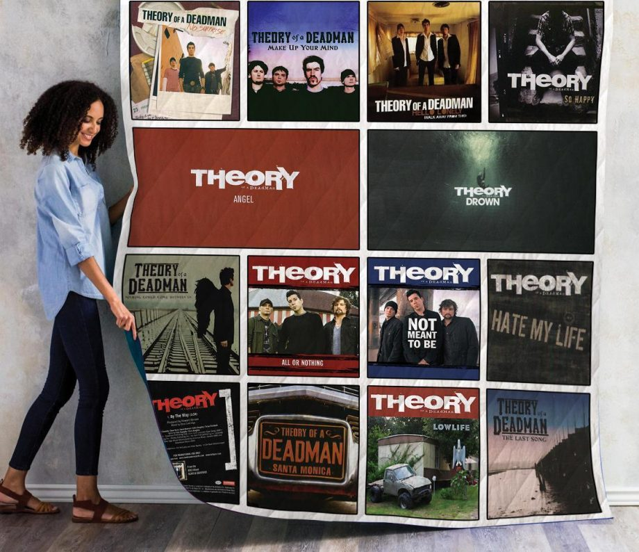 Theory Of A Deadman Singles Quilt Blanket 01