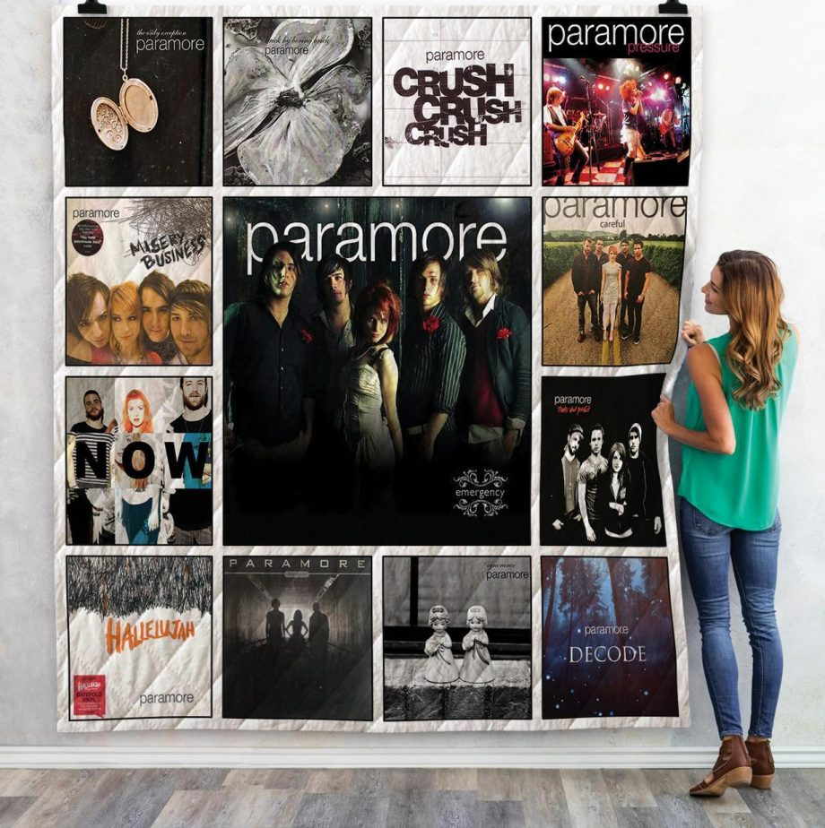 Paramore Singles Quilt Blanket 02