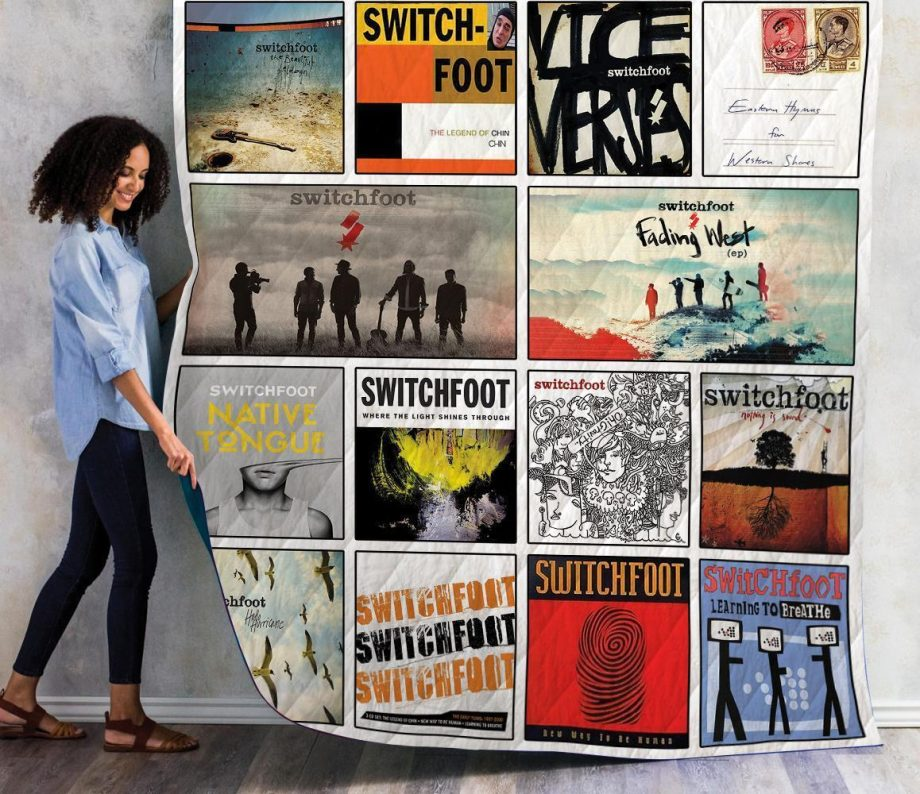 Switchfoot Albums Quilt Blanket 01