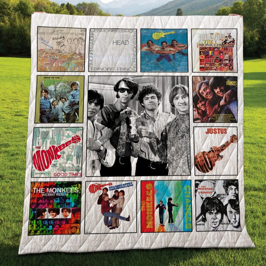 The Monkees Albums Quilt Blanket 04