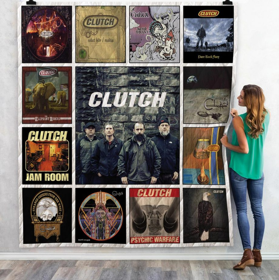 Cultch Band Albums Quilt Blanket 02