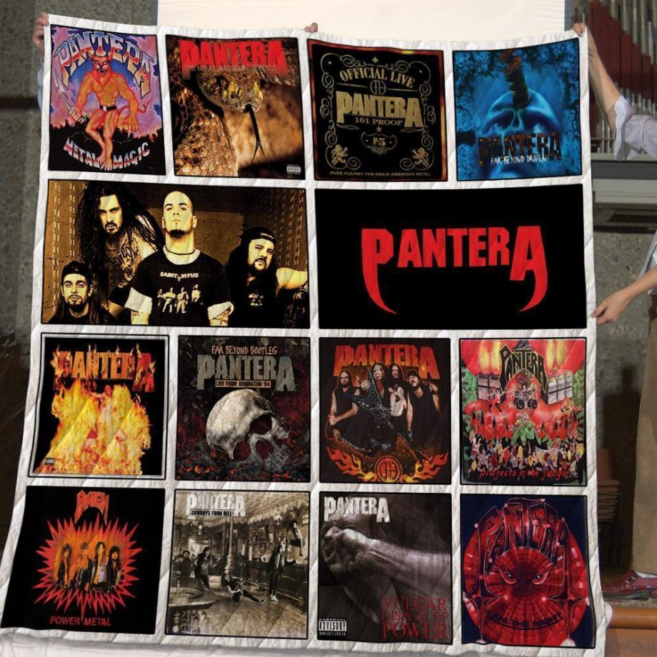 Pantera Quilt Blanket For Fans New Arrival 04