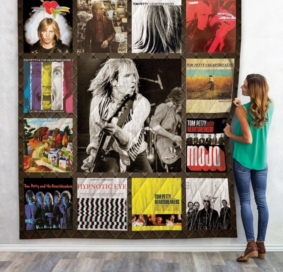 Tom Petty Quilt Blanket For Fans New Arrival 03