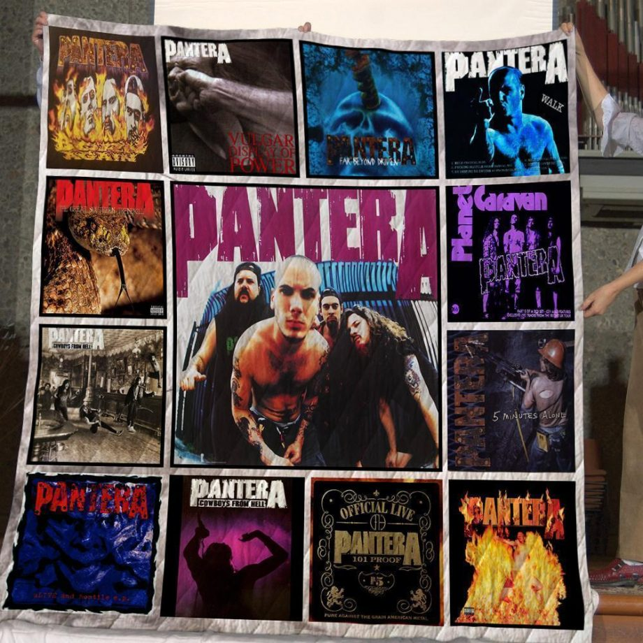 Pantera Quilt Blanket For Fans New Arrival 02
