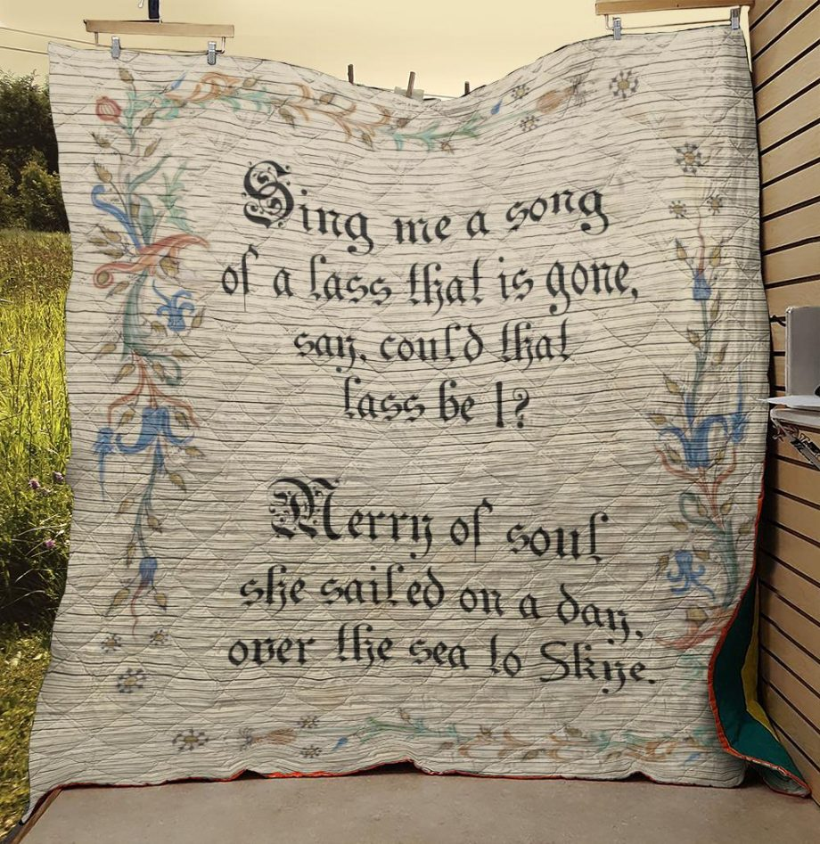 Outlander Sing Me A Song Quilt