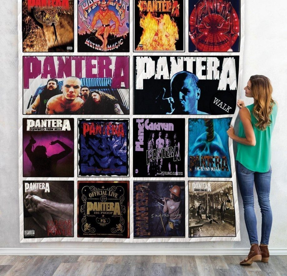 Pantera Quilt Blanket For Fans New Arrival 01