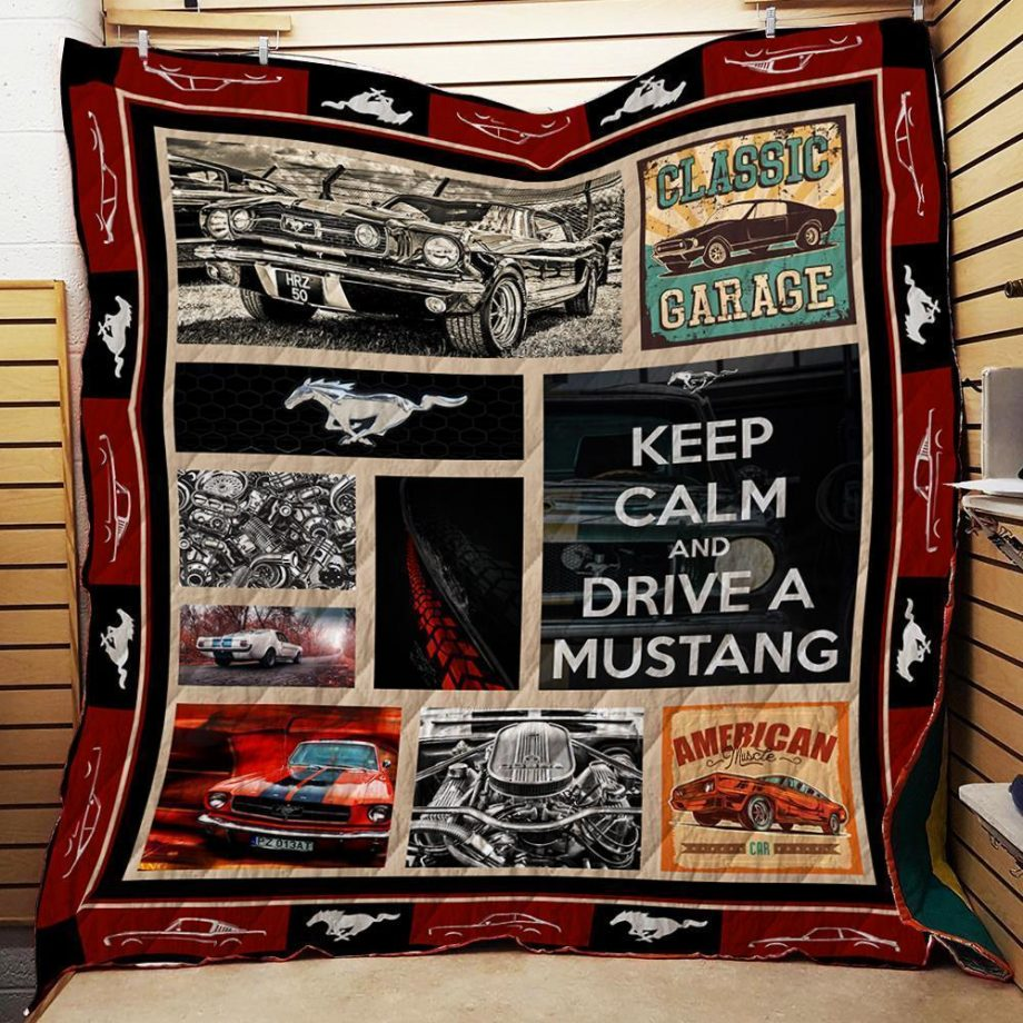 Mustang All The Time Quilt