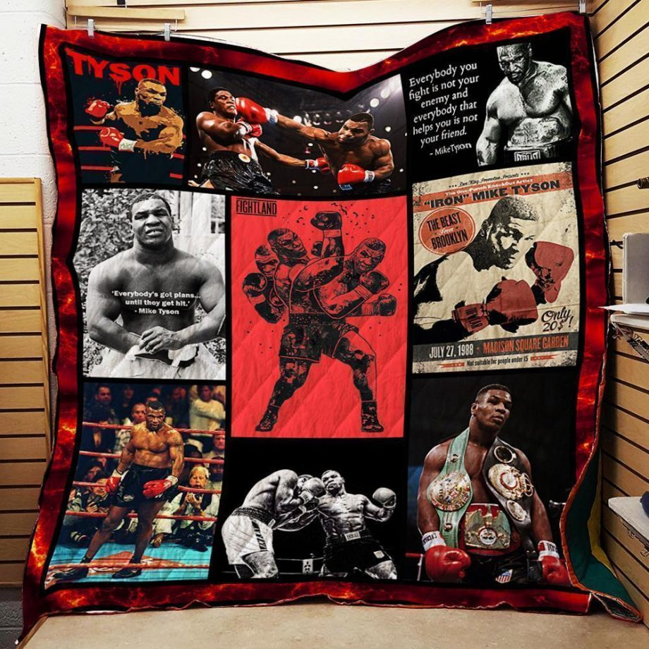 Mike Tyson Boxing Quilt