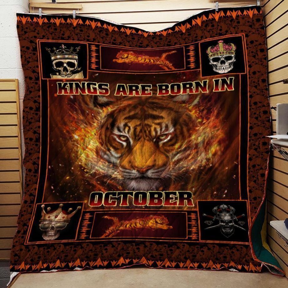 Kings Are Born In October Special Quilt