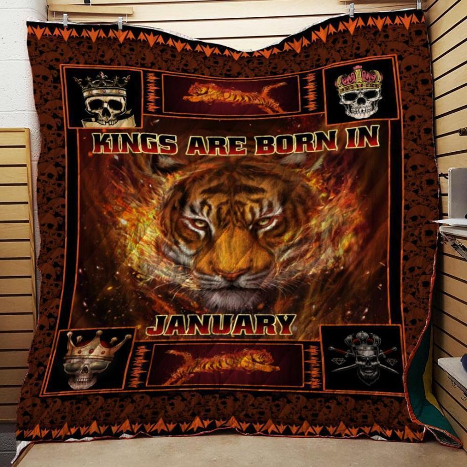 Kings Are Born In January Special Quilt