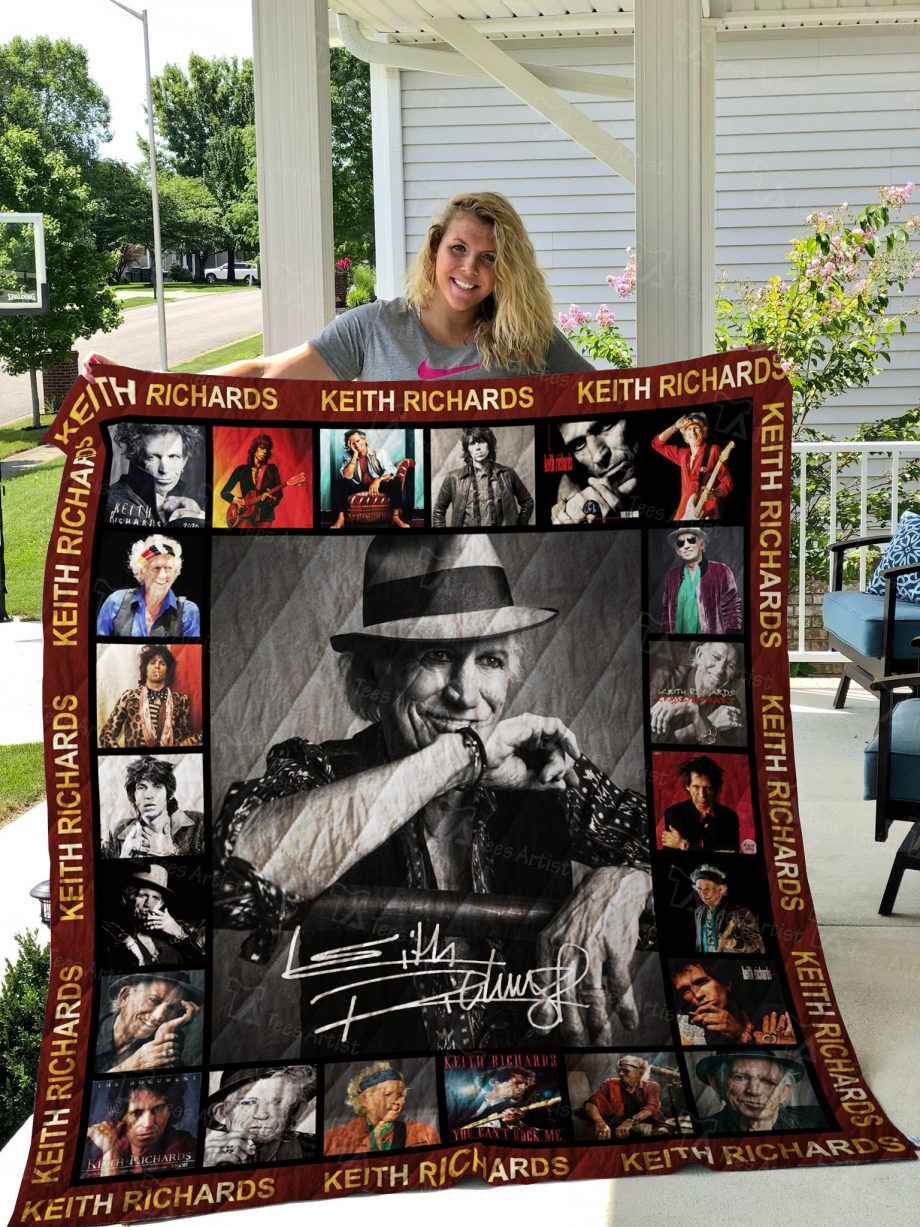 Keith Richards Quilt 02460