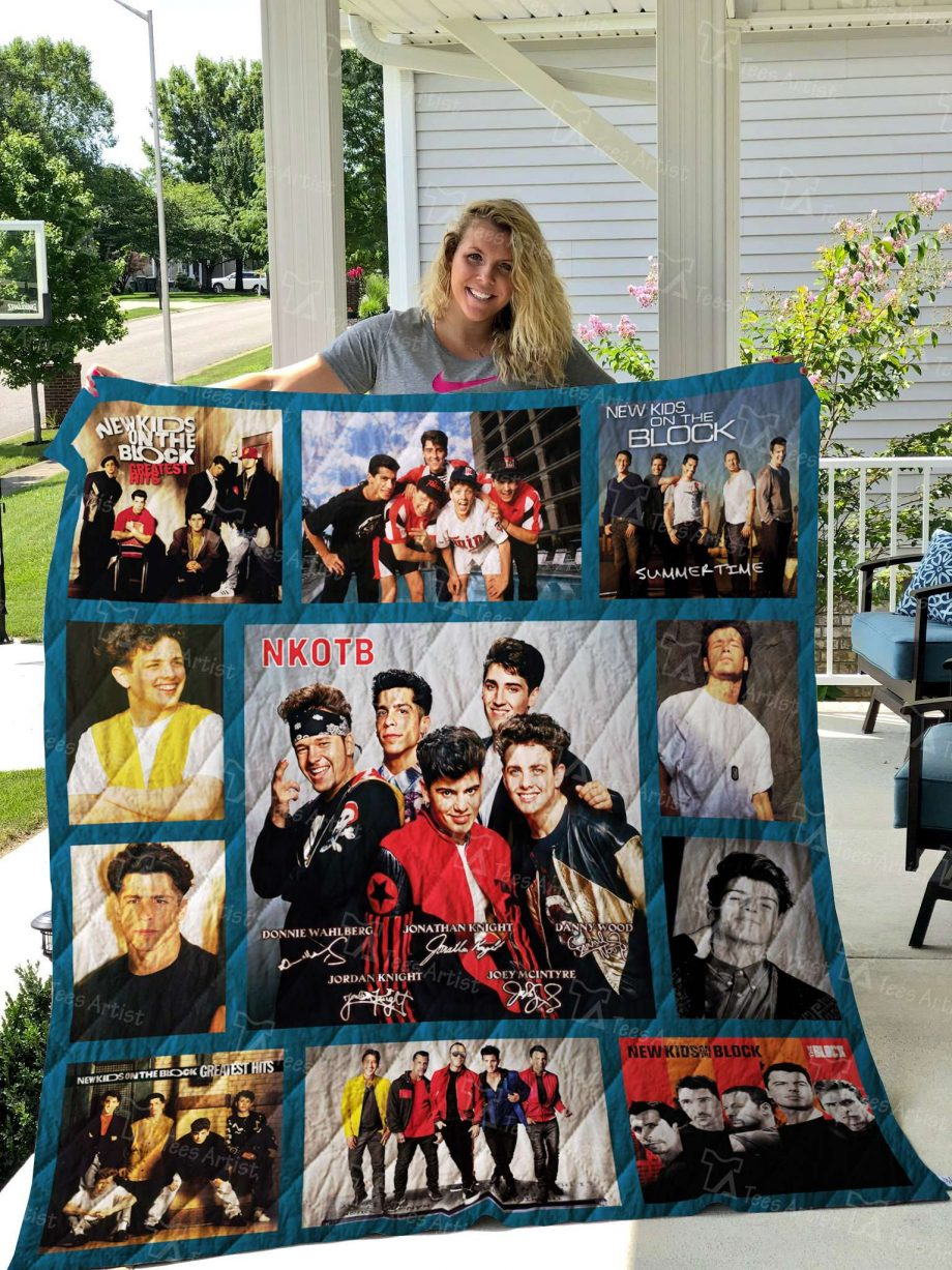 New Kids on the Block Quilt 02491
