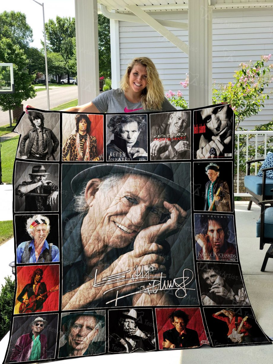 Keith Richards Quilt 02406