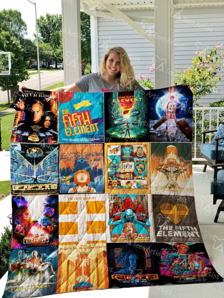 The Fifth Element Quilt Blanket 0572