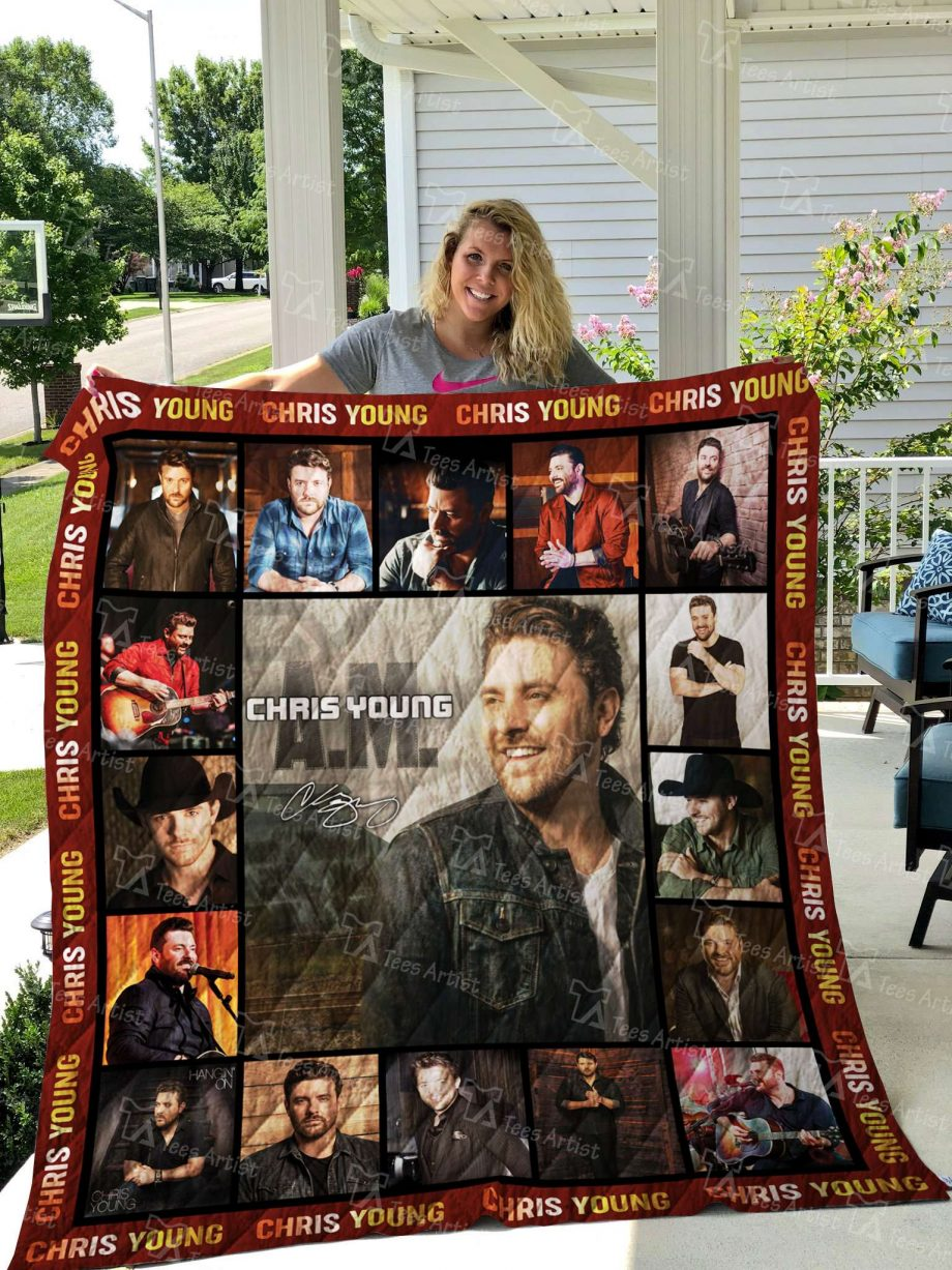 Chris Young Quilt Blanket 02623