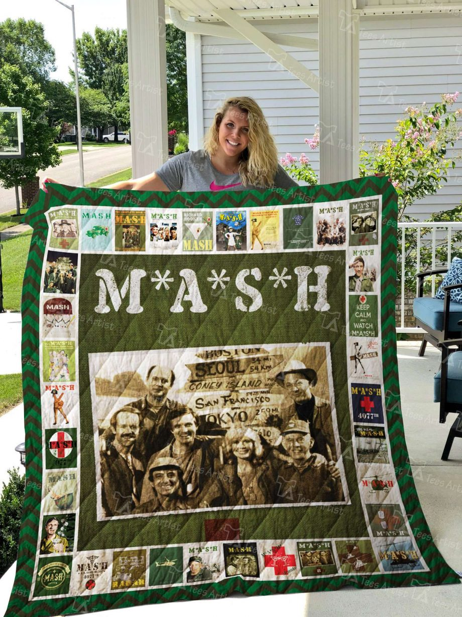 M*A*S*H Quilt Blanket 02690