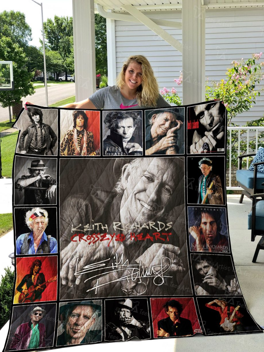 Keith Richards Quilt 02405