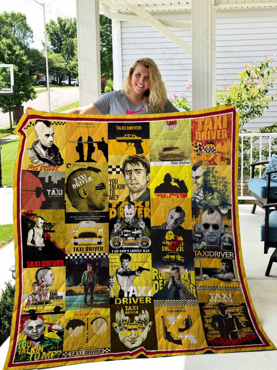 Taxi Driver Quilt Blanket 02662