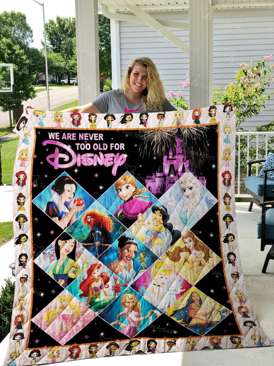 Disney Princess Quilt 02464