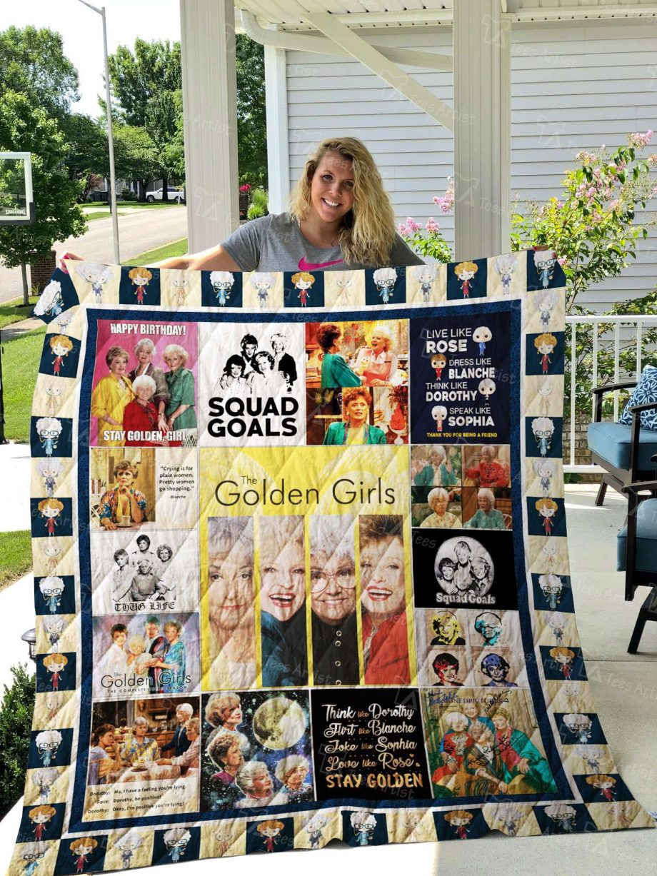 Golden GIrls Quilt 02485