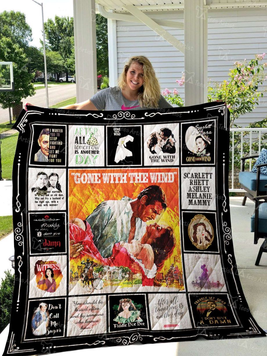 Gone With The Wind Quilt Blanket 02680