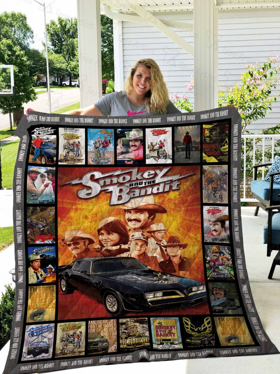 Smokey and the Bandit Quilt Blanket 02670