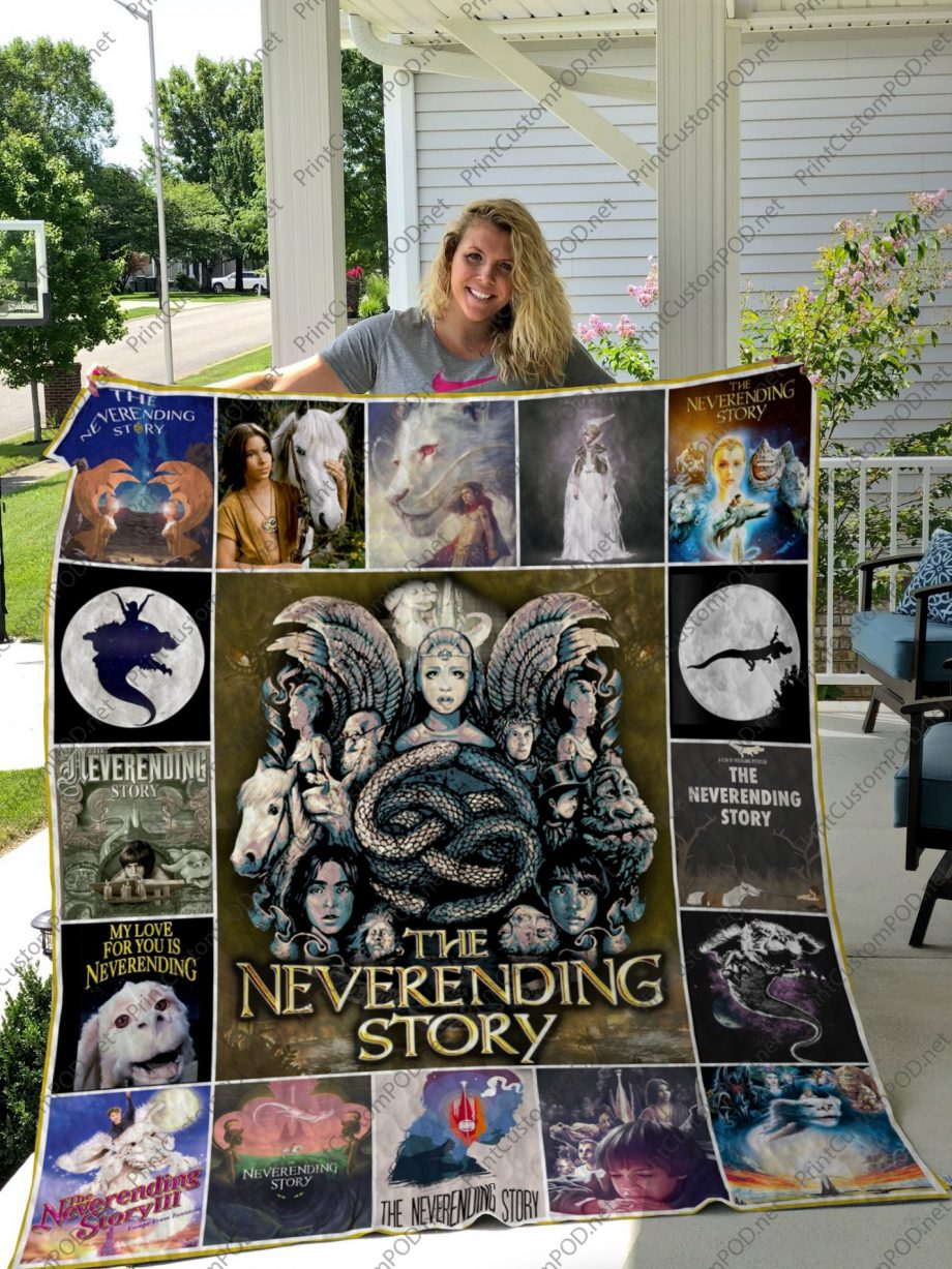 H KP8211 The Neverending Story Quilt Blanket